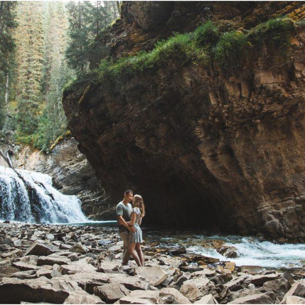 Rebecca + Jordan | Banff Engagement Photography