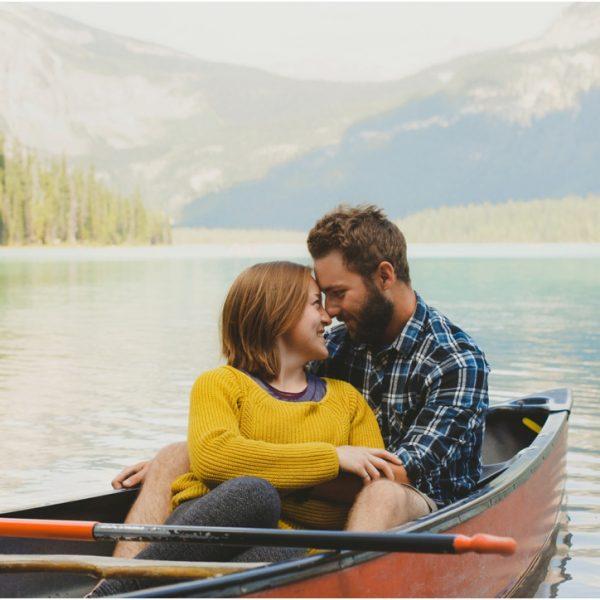Nevin + Breanna | Emerald Lake Romantic Photography