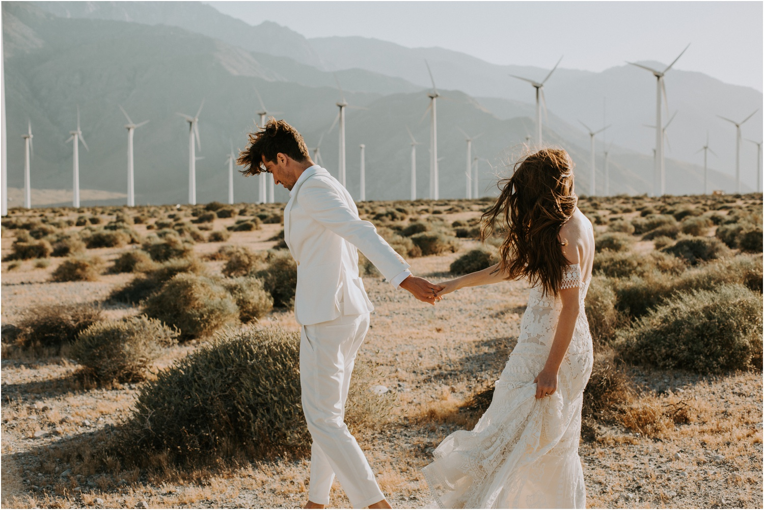Palm Springs Elopement | Stephanie + Nick | Courtney Jess Photography