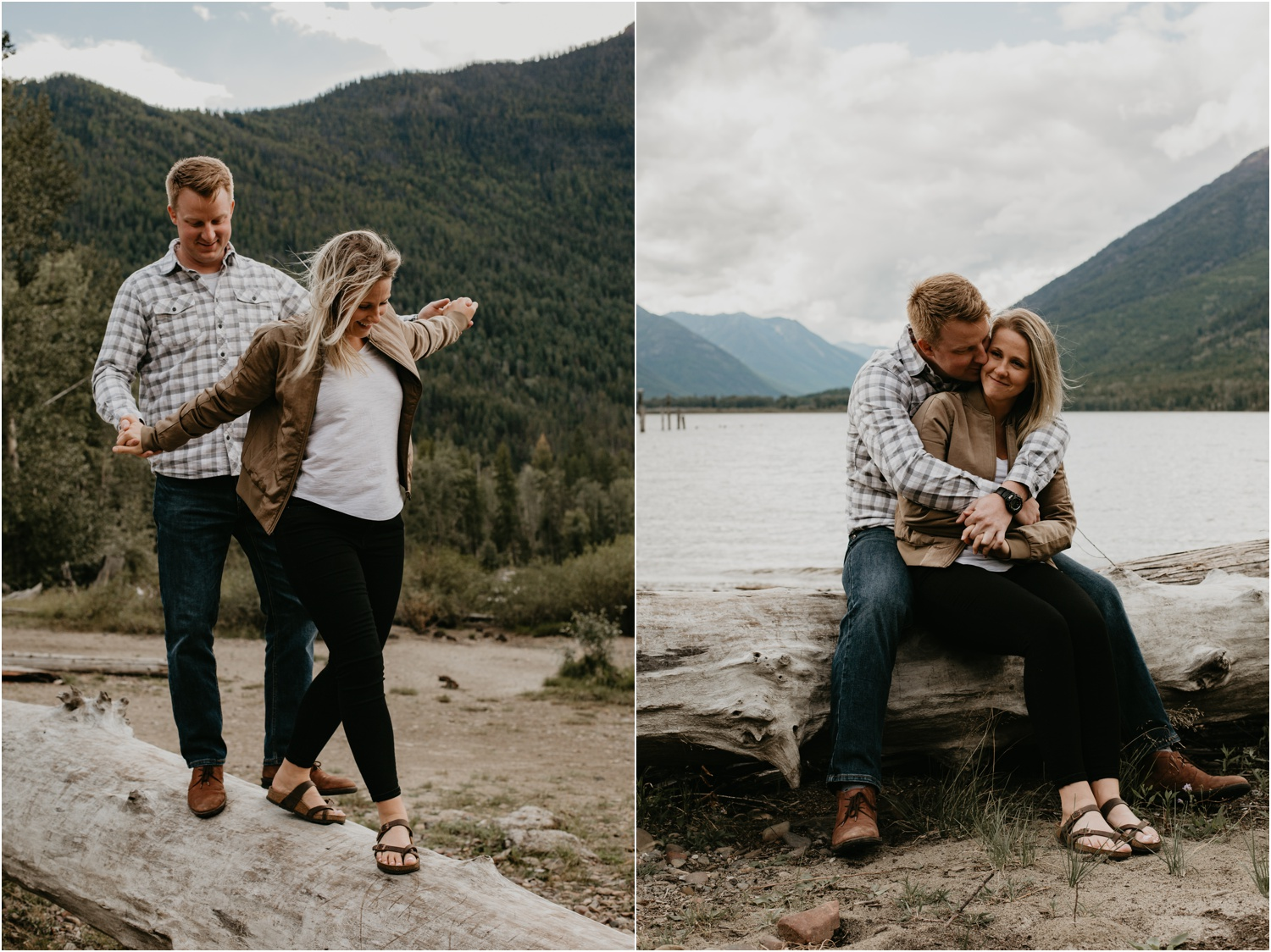 Courtney Jess Photography. st mary lake, kimberley wedding photographer, kimberley engagement