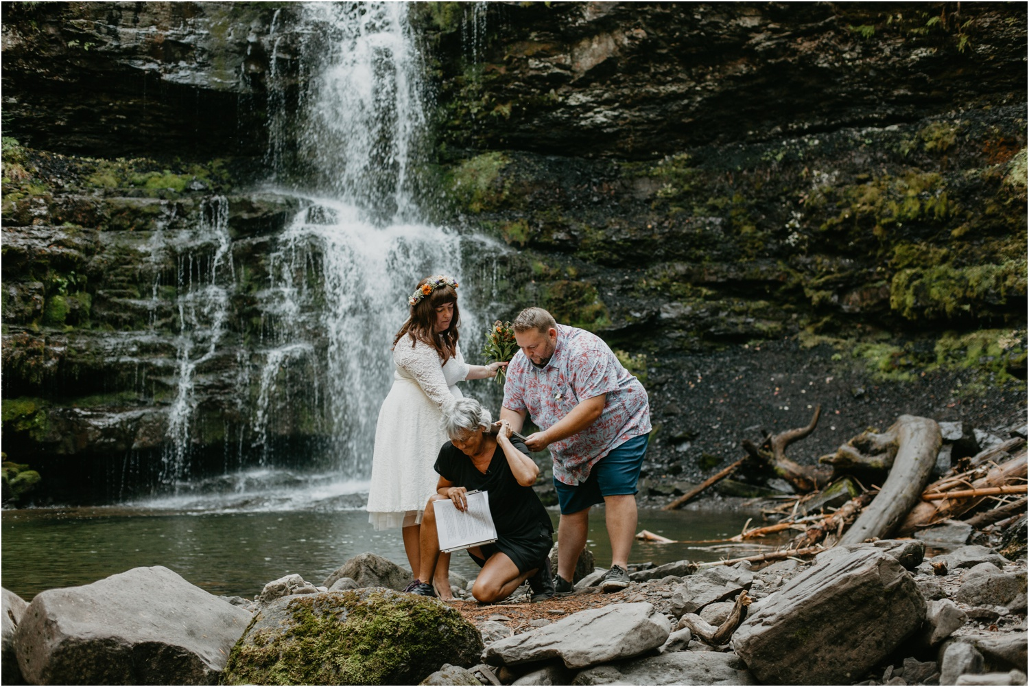 Courtney Jess Photography,Cranbrook wedding photographer,Kimberley Wedding Photographer,donna marie marriage commisioner,fernie elope,fernie elopement,fernie elopement photographer,fernie waterfall elopement,fernie wedding,matheson falls,
